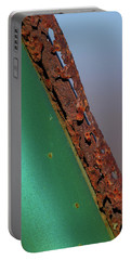 Portable Battery Charger featuring the photograph International Green by Susan Capuano