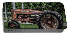 Portable Battery Charger featuring the photograph International Harvester by Ray Congrove