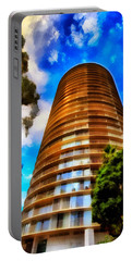 Portable Battery Charger featuring the photograph International Tower  by Joseph Hollingsworth