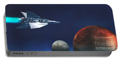 Interplanetary Travel Portable Battery Charger