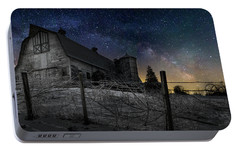Portable Battery Charger featuring the photograph Interstellar Farm by Bill Wakeley