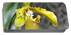 Intimate Orchid 5 - Sharon Cummings Portable Battery Charger by Sharon Cummings