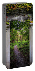 Portable Battery Charger featuring the photograph Into The County Galway Countryside by James Truett
