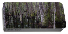 Into The Cypress Swamp Portable Battery Charger