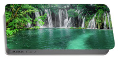 Into The Waterfalls - Plitvice Lakes National Park Croatia Portable Battery Charger
