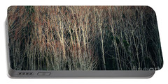 Into The Forest  Portable Battery Charger by Christy Ricafrente