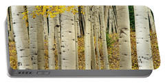 Portable Battery Charger featuring the photograph Into The Forest by Gary Lengyel