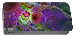 Into The Imaginarium  Portable Battery Charger by NirvanaBlues