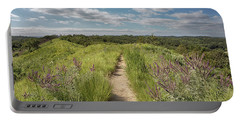 Portable Battery Charger featuring the photograph Into The Loess Hills by Susan Rissi Tregoning