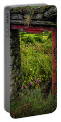 Portable Battery Charger featuring the photograph Into The Magical Irish Countryside by James Truett