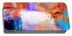 Portable Battery Charger featuring the painting Into The Open by Dan Sproul