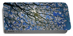 Portable Battery Charger featuring the photograph Into The Sun by Linda Unger