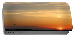 Into The Sunset Portable Battery Charger