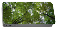 Portable Battery Charger featuring the photograph Into The Trees by Michael  TMAD Finney