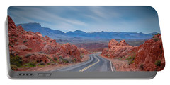 Into The Valley Of Fire Portable Battery Charger