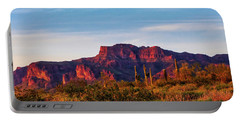 Portable Battery Charger featuring the photograph Into The West by Rick Furmanek