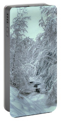 Into White Portable Battery Charger