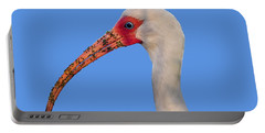Portable Battery Charger featuring the photograph Intriguing Ibis .png by Al Powell Photography USA
