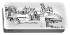 Introducing The 1962 Jag E-type Coupe Portable Battery Charger