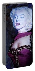 Introspective Marilyn Portable Battery Charger