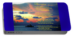Invictus By William Ernest Henley Portable Battery Charger