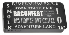 Iowa Famous Landmarks Portable Battery Charger