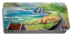 Ireland Co Kerry Portable Battery Charger by Paul Weerasekera
