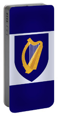 Portable Battery Charger featuring the drawing Ireland Coat Of Arms by Movie Poster Prints