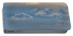 Portable Battery Charger featuring the photograph Iridescence Horizon by Doug Gibbons