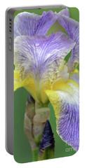 Iris Blossom Moonlit Sea Portable Battery Charger