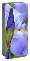Iris-blue Blazes Portable Battery Charger