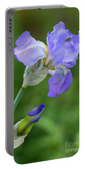 Iris Blue Portable Battery Charger