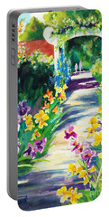 Iris Garden Walkway   Portable Battery Charger