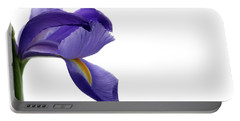 Portable Battery Charger featuring the photograph Iris by Marie Leslie
