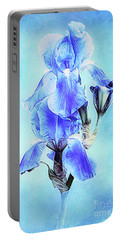 Iris Pair In Blue Portable Battery Charger