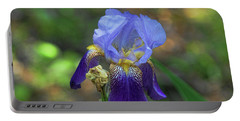 Iris Purple And Blue Portable Battery Charger