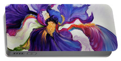 Iris Serenity Portable Battery Charger by Marcia Baldwin