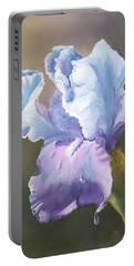 Iris Tears Portable Battery Charger by Sherry Shipley