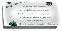 Irish Blessing 2 Portable Battery Charger