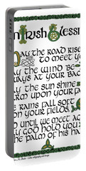 Irish Blessing Portable Battery Charger
