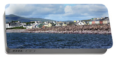 Irish Seaside Village - Co Kerry  Portable Battery Charger by Aidan Moran