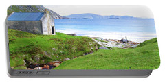 Irish Treasures.. Past And Present Portable Battery Charger by Charlie and Norma Brock