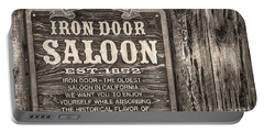 Iron Door Saloon 1852 Portable Battery Charger