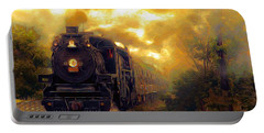 Portable Battery Charger featuring the photograph Iron Horse by Aaron Berg