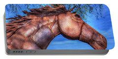 Portable Battery Charger featuring the photograph Iron Horse by Paul Wear