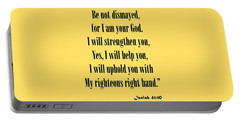 Isaiah 41 10 Fear Not Portable Battery Charger