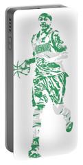 Isaiah Thomas Boston Celtics Pixel Art 17 Portable Battery Charger