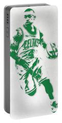 Isaiah Thomas Boston Celtics Pixel Art 2 Portable Battery Charger