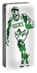 Isaiah Thomas Boston Celtics Pixel Art 4 Portable Battery Charger