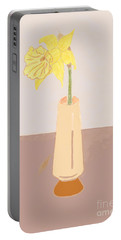 Island Daffodil Portable Battery Charger